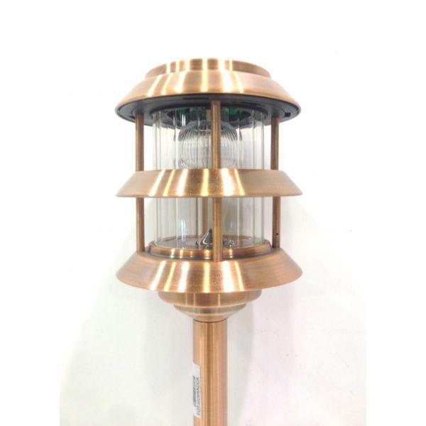 Iluminaci n jard n de led fotona fotj028a - Farol solar para jardin ...
