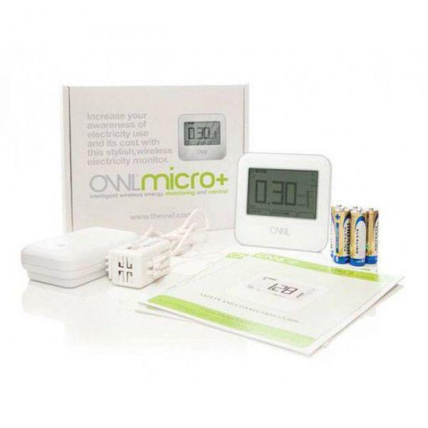 Kit de Monitorización de Consumo Eléctrico OWL CM180 MICRO+ Trifásico 200A