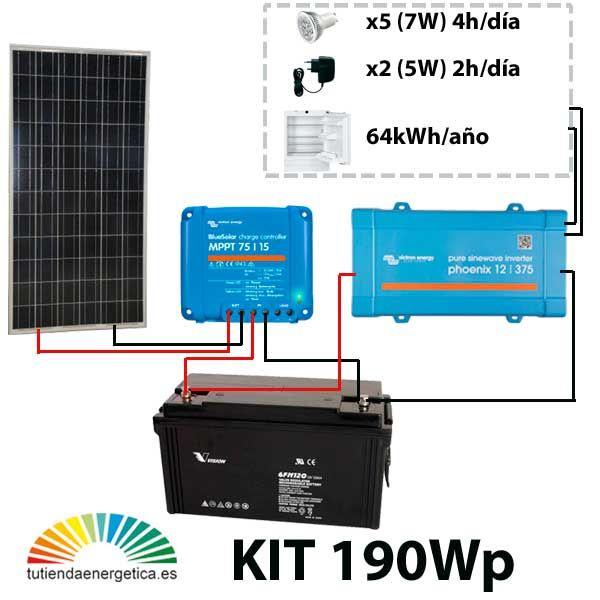 Kit placas fotovoltaicas para viviendas 68