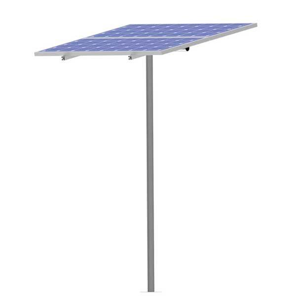 soporte solar poste