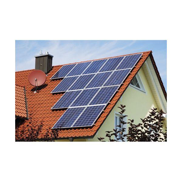 Estructura aluminio placa solar para tejado inclinado for Tejados solares