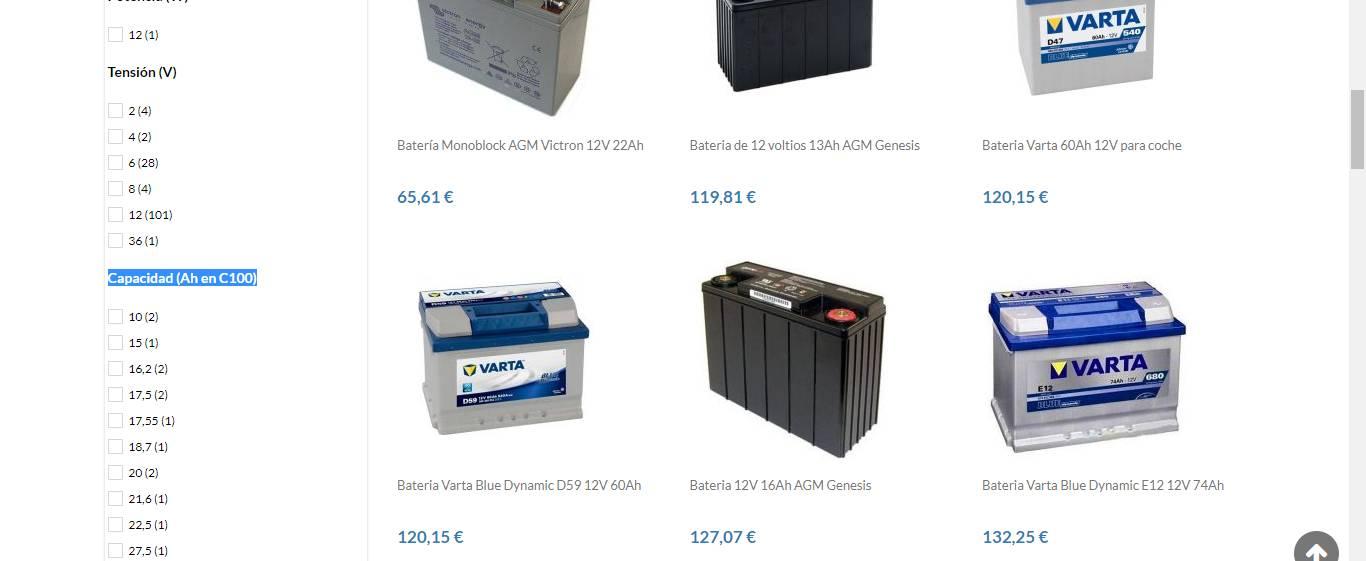 acumuladores solares fotovoltaica
