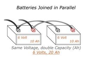 conectar bateria paralelo