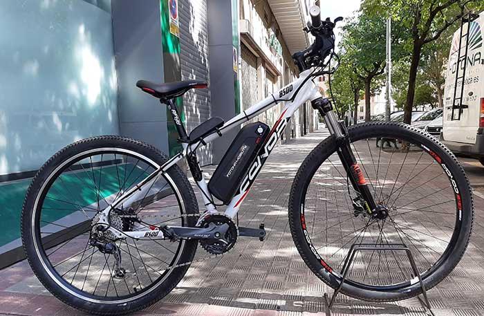kit electrificada para bicicleta conor