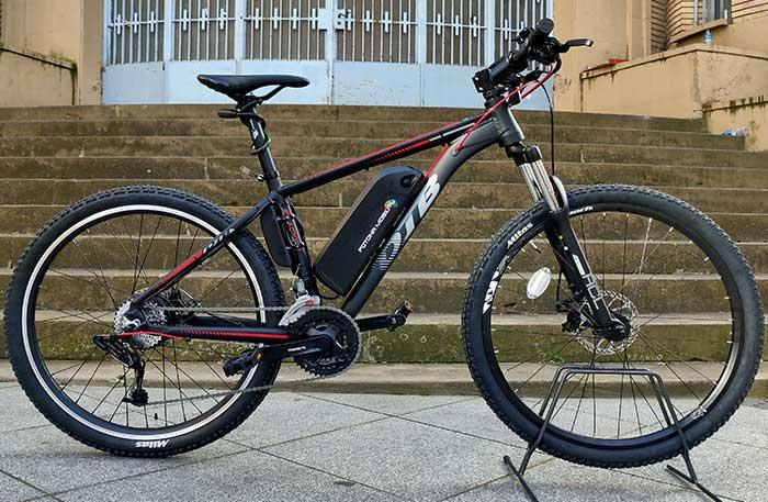 convertir bici de montaña 250W