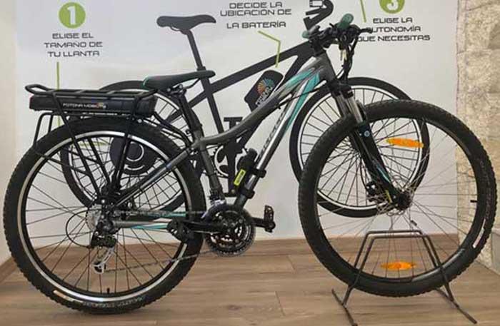 kit motor 250W bicicleta spezialized
