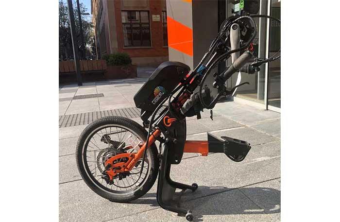 handbike silla de ruedas electrificado precio