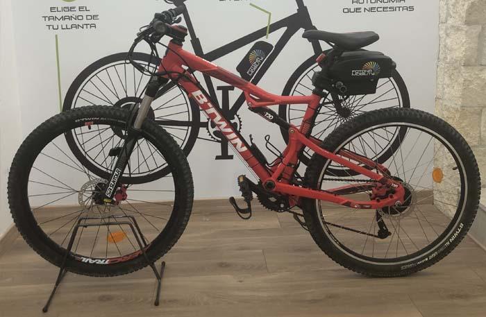 conversion motor bici de montaña decathlon