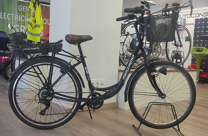 kit electrificar bici paseo mujer