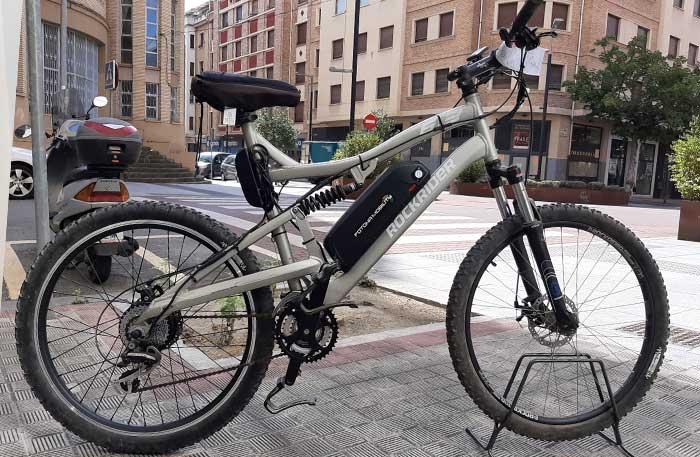 motor bici montaña