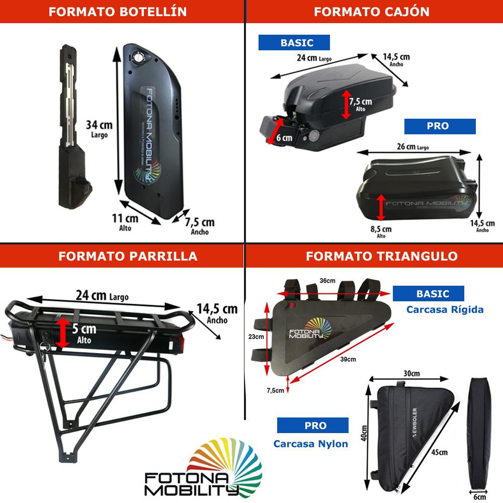 tipos baterias electricas