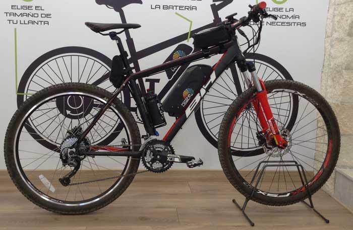 kit electrico para bicicleta bh