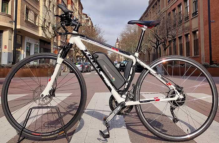 transformacion de bicicleta mtb a bicicleta con motor